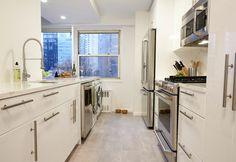 87th Street in NYC kitchen remodeled byKlein Kitchen and Bath