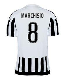 Maillot de foot Juventus Domicile 2015/2016 (8 Marchisio)