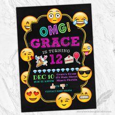 Emoji cumpleaños partido invitaciones emojicons emojis caras