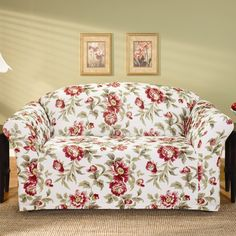 Sofa covers Sure Fit Slipcovers, Loveseat Slipcovers, Sofas For Small Spaces, Small Sofa, Furniture Covers, Furniture Decor, Furniture Refinishing, Couch Covers, Home Decor Shops