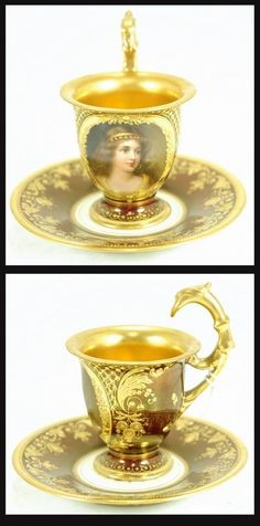 Let's have Tea in Style - ROYAL VIENNA Cup & Saucer