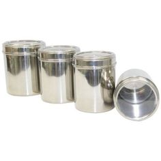 JVL Twister Mukhwas Canister Set With Grill   2 Pcs | Dabba | Pinterest | Canister  Sets, Kitchen Appliance Storage And Buy Kitchen