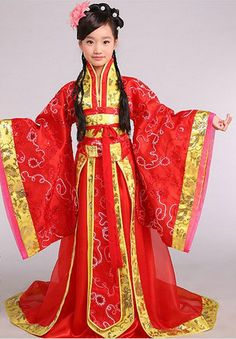 9669fbf8f Ancient Chinese Kids Princess Suits and Headwear Complete Set Ancient  chinese fashion