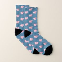 This Little Piggie Socks - diy cyo customize create your own personalize