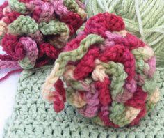 Just Make It: Handmade By Annabelle: Crochet Pattern: Fluffy Bath Puff