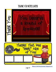 Hollywood Themed Classroom Kit Ideas and Printables - Clutter Free Classroom - TeachersPayTeachers.com