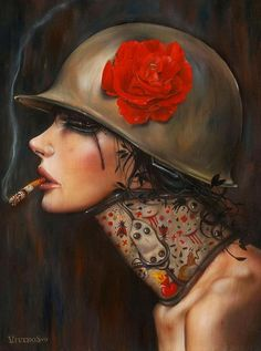 Cigarette Girls by Brian Viveros | Cuded