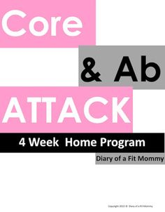 NEW 4 Week Home Programs