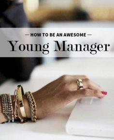 Young Woman Manager - At the office