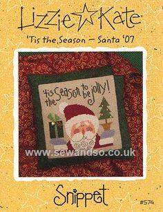 Buy 'Tis the Season - Santa '07 Chart Online at www.sewandso.co.uk