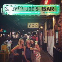 Sloppy Joe's in Key West - great bar for a girls trip or bachelorette party