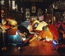 library camping