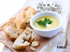 Krem z zielonych warzyw jest idealną propozycją na pierwsze danie dla zapracowanych gospodyń. Szybki w przygotowaniu i smaczny - dodaj ulubione warzywa i płaską łyżkę FINUU dla podkreślenia smaku. #FINUU #krem #zupa #soup #pieczywo #inspiracje #tips #porady