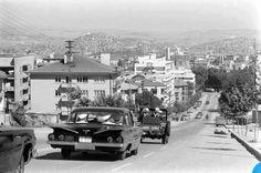 Cinnah Caddesi Ankara 1960..