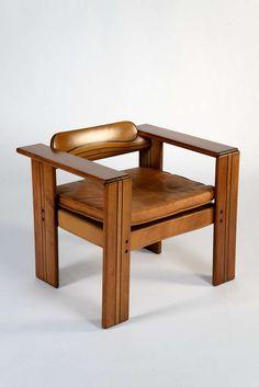 Afra & Tobia Scarpa, Artona Chairs, for Maxalto, 1975