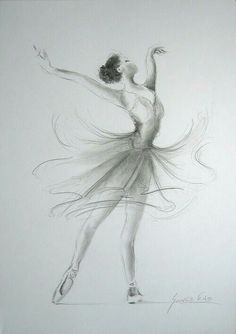Art - Ballerina Drawing