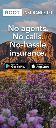 Download the app. Drive. Save Money. Root Insurance provides better rates for better drivers.    WE RESERVE THE RIGHT TO REFUSE TO QUOTE ANY INDIVIDUAL A PREMIUM RATE FOR THE INSURANCE ADVERTISED HEREIN. Form 1. Not available in all states.