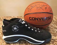 2d885225143e Latrell Sprewell autographed Converse Basketball
