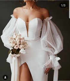 Brides on a budget can have inspired wedding dresses made & recreations of haute couture bridal designs produced here in the USA. Dream Wedding Dresses, Bridal Dresses, Wedding Gowns, Prom Dresses, Wedding Bride, Elegant Dresses, Pretty Dresses, Beautiful Dresses, Shower Dresses