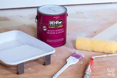 Paint subfloor? Don't have the money to replace carpet with wood or tile? Do what I did - paint it! If your floor is sound, it can be easily painted beautifully in all one color or in a decorative design | In My Own Style