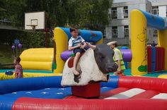 Rodeo stier  MCJ-attractions