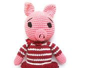 "My amigurumi pattern ""Miss Pig The Ami"" has been featured in ""Feel The Magic"" by Monica Wilga from MonicaWilgaDesigns"