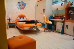 Disney Planes bed & bedroom Finally a Dusty theme that is actually cool!