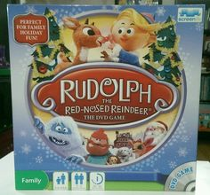Rudolph the Red-Nosed Reindeer The DVD Game 2010 Board Game Christmas  Holidays