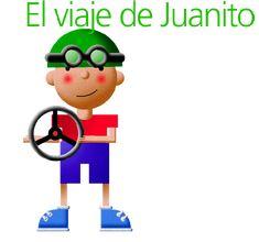 """""""El viaje de Juanito"""", y otros cuentos infantiles autoproducidos"""