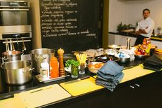 Кулинарные курсы в Viesistaba Vintage