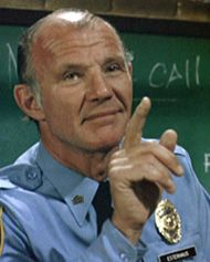 """Michael Conrad as Sgt. Phil Esterhaus, Hill Street Blues """"Let's be careful out there. Series Movies, Tv Series, Michael Conrad, Detective, St Blues, Timeless Series, Lets Be Cops, Nypd Blue, Cop Show"""