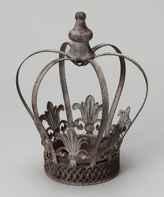 Take a look at this 10 Metal Crown by Vintage Interiors: Home Accents on @zulily today!