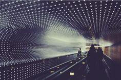 Crazy metro passage