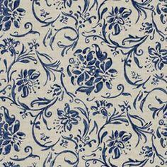 RL Orleon Floral U2013 Indigo U2013 Ralph Lauren Fabric   L.A. Design Concepts