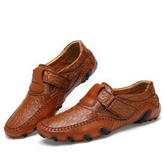 Luxury Brand Men Shoes Genuine Leather Big Size Men Driving Shoes Good Quality Soft Men Loafers Comfortable Plus Size 45