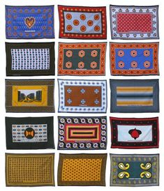 Kanga Patterns - Kanga is a piece of printed cotton fabric worn by women and men throughout eastern and central Africa. A colourful garment, one of the Kanga's longer edges often features messages or quotations written in KiSwahili and sometimes in Arabic.