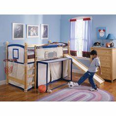 DORMITORIOS INFANTILES RECAMARAS PARA BEBES Y NIÑOS: Deporte hasta el final del día en su habitación!
