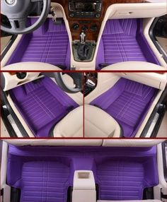 Floor Mats & Car Mats Custom Fit Full Surrounded Floor Liner (Purple) The cheapest is 200$. Just Looking...