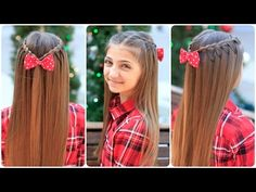 Upward Lace Braid...Wow!  Love the hair pulling upward.   #hairstyles #CuteGirlsHairstyles #CuteGirlHair #hairstyle #braid #braids #lacebraids