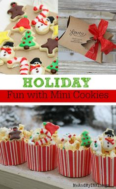 Mini Cookies made wi