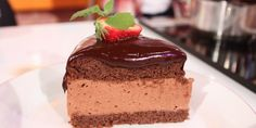 bolo mousse chocolate