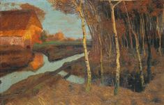 Abend am Moor, Fritz Overbeck, Worpswede