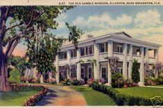 Gamble Plantation Ellenton, Florida
