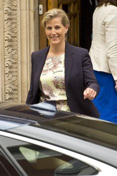 Sophie Wessex visits Prince Phillip in hospital while he recovers from operation 11th June 2013