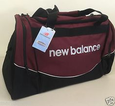 NEW BALANCE Team Duffle / Gym Bag Maroon / Black BG209 MR #NEW #BALANCE #NEWBALANCE #TEAM #BAG #SPORT #BAGS #SPORTING #FORSALE #EBAY @EBAY