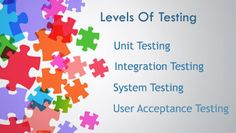 Software Testing Courses: Major Levels in Software Testing
