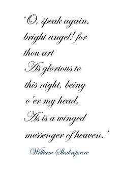 ♔ Romeo from 'Romeo and Juliet' ~ William Shakespeare