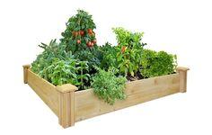 Greenes Fence Raised Garden Bed https://www.rodalesorganiclife.com/garden/best-raised-bed-garden-kits/slide/7