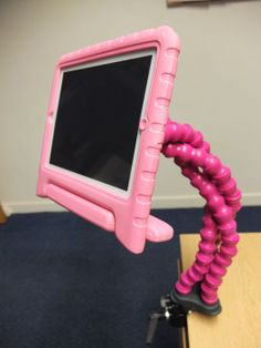 Flexzi 3 is an adjustable support system for items like buddy buttons, iPads, mobile phones, remote controls and sat-navs. It is made from a triple strand of flexible plastic segments that allows perfect positioning of your devices. http://blossomforchildren.co.uk/toys-books/217-flexi-3.html