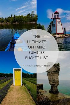 summer bucket list Tons of Things to do in Ontario - bucketlist Places To Travel, Travel Destinations, Places To Visit, Travel Tips, Travel Goals, Travel Ideas, Things To Do Camping, Ontario Travel, Ontario Camping